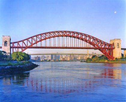 Hell Gate Bridge, photo by Dave Frieder