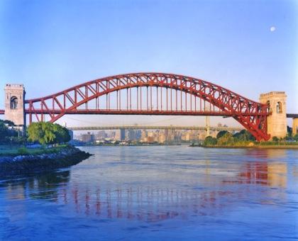 Hell Gate Bridge, photo by Dave Frieder