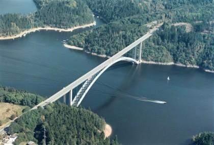 Žďákovský most, photo by Jiří Berger