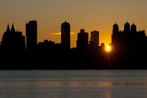 Central Park sunset 2