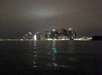Night-time Manhattan