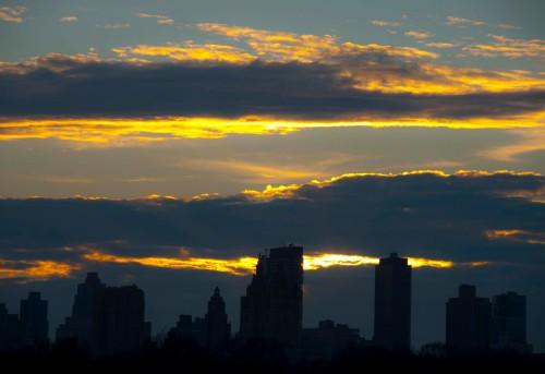 Central Park sunset 3
