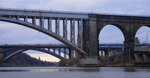 Three mid-Harlem bridges