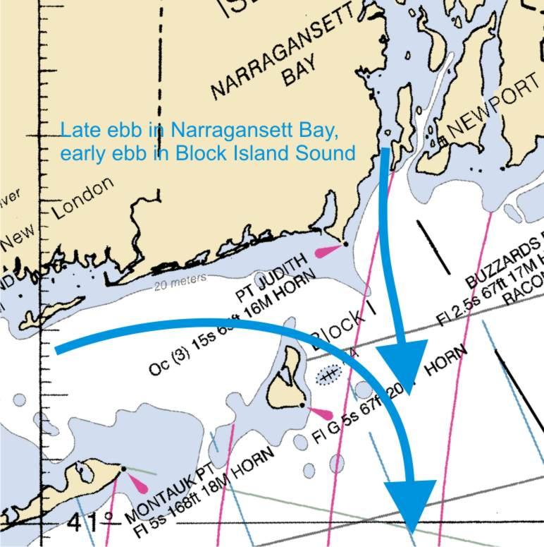 Rhode Island Tidal Chart