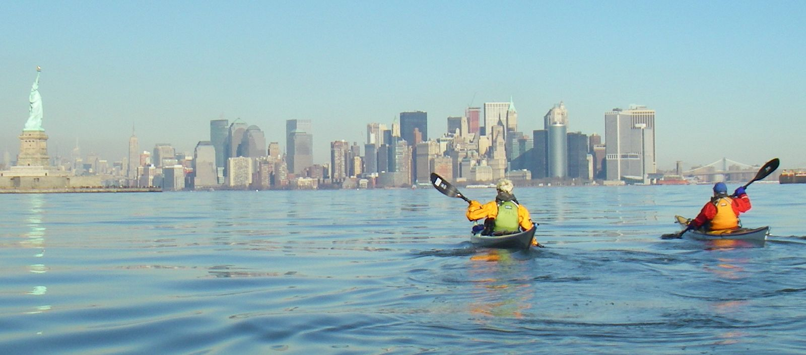 Paddling Long Island And New York City