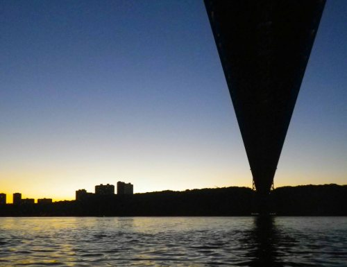 Hudson River: George Washington Bridge
