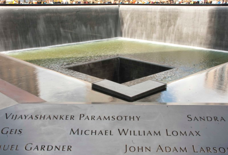 April: We visit the 9/11 Memorial, Manhattan