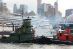 September: Great North River Tugboat Race & Competition in New York Harbor