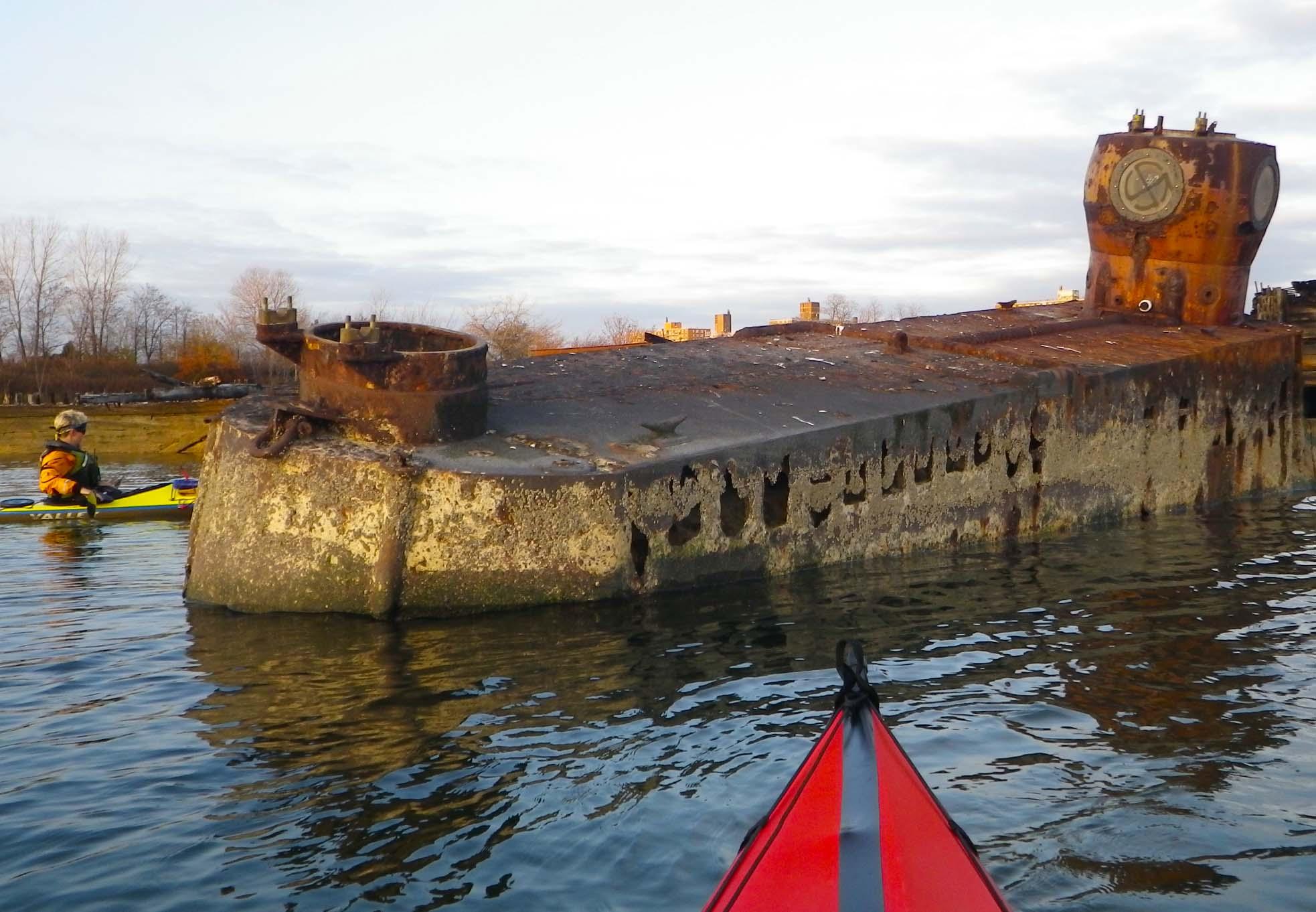 Submarine Wind Against Current