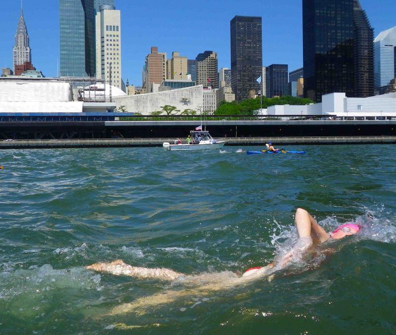 June: Manhattan Island Marathon Swim