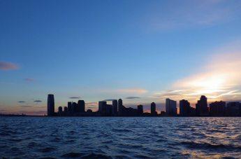 Last light over New Jersey