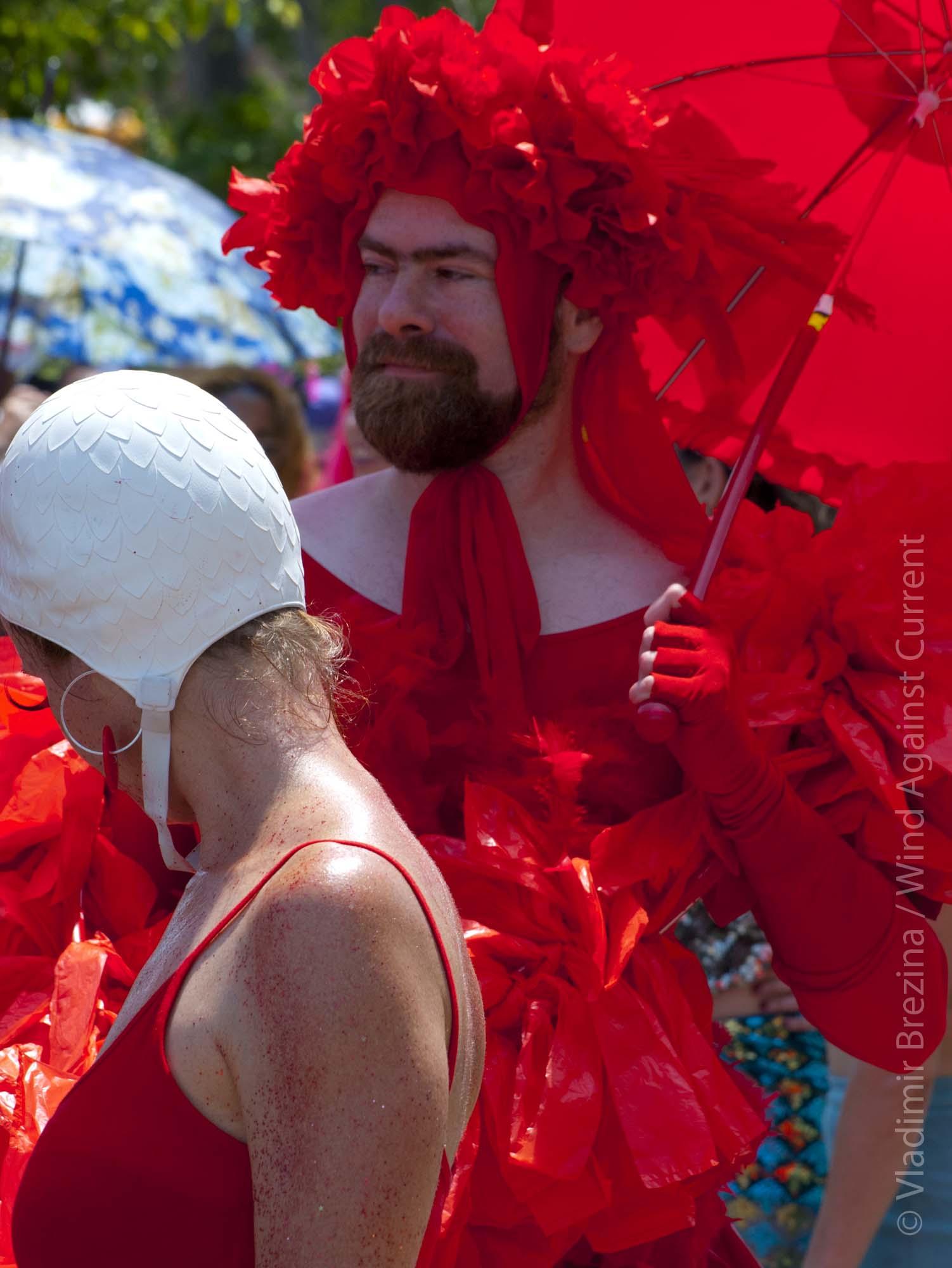 Coney Island Mustache Contest Christian Fattoruso