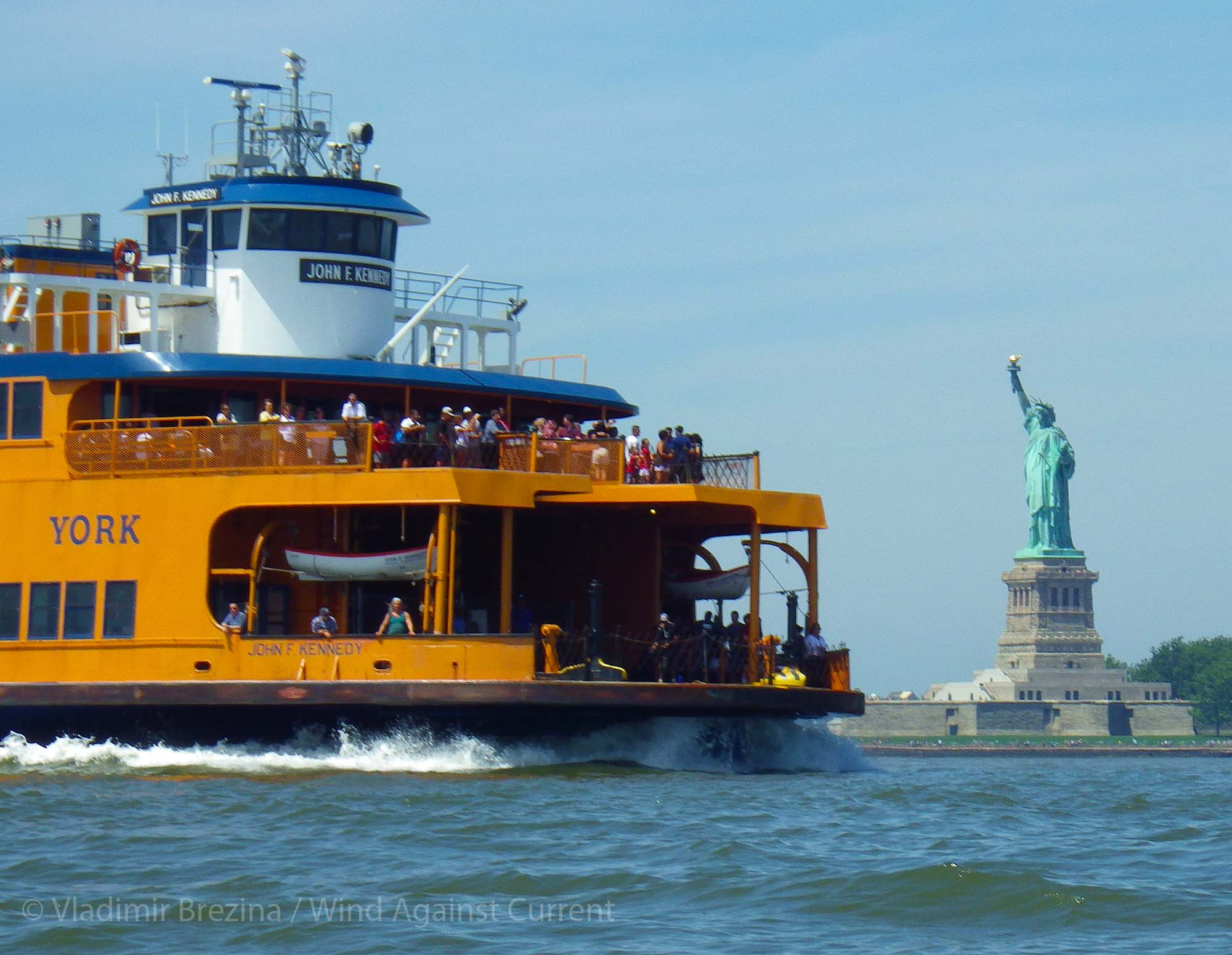 Ferry To Liberty Island Location