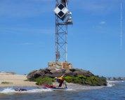 At the northwest tip of Sandy Hook, we land under our favorite osprey nest