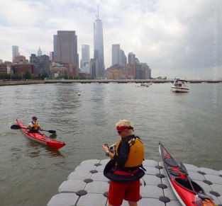Launching at Pier 40