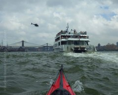 East River traffic