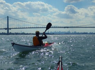 Back into the East River