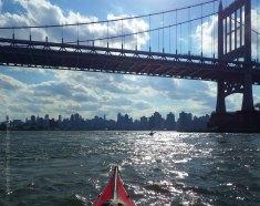 ... toward Manhattan
