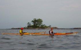 Alex and Jean off Pea Island