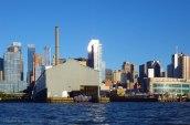 Midtown Manhattan reflects the sun