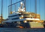 A mega-yacht