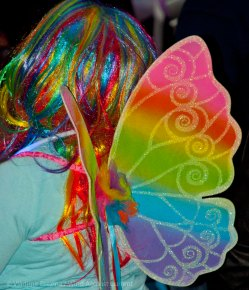 Rainbow wings