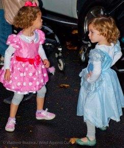 Dueling princesses