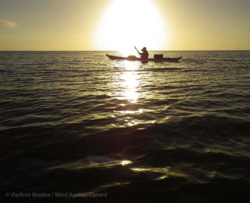 Evening seas