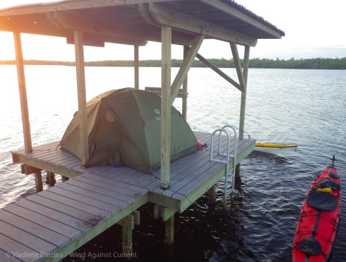 Our camp on a chickee