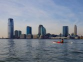 Across the river, Jersey City