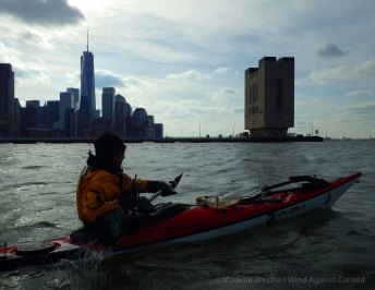 We leave the Pier 40 embayment