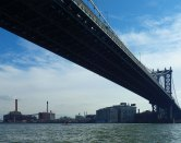... and the Manhattan Bridge