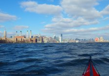 We continue up the East River