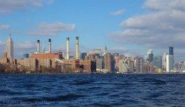 Midtown Manhattan is in sight