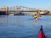 Toward the Madison Avenue Bridge