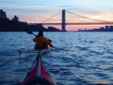 ... toward the George Washington Bridge