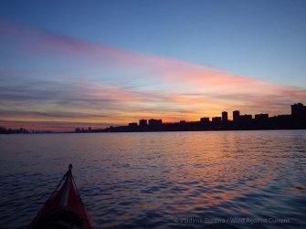 Last sunset color