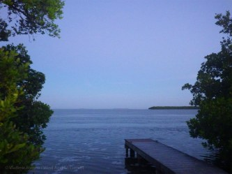 Dawn at our campsite on Little Rabbit Key