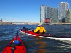 We continue up the Queens-side channel past Roosevelt Island