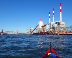 Toward the power plant