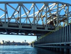 The renovated Willis Avenue Bridge