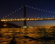 We approach the George Washington Bridge