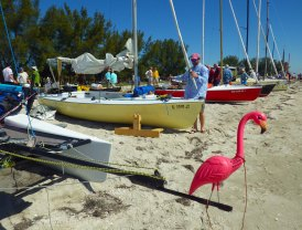 The prow flamingo