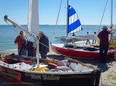 More traditional sailboats