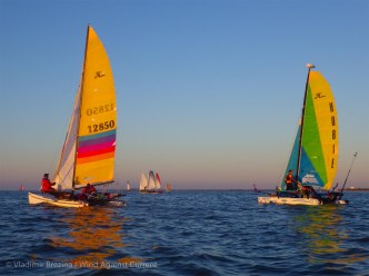 Colorful sails (and musical accompaniment!)
