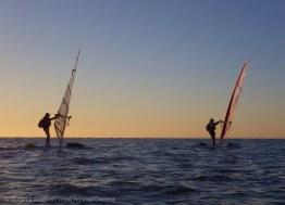 The two windsurfers, Bermudaboy and Seadog Rocket