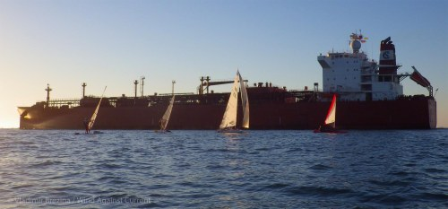 Tanker passes