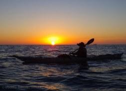 We paddle on
