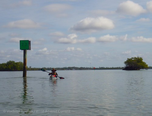 Paddling by numbers 4