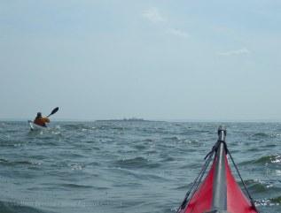 Swinburne Island ahead